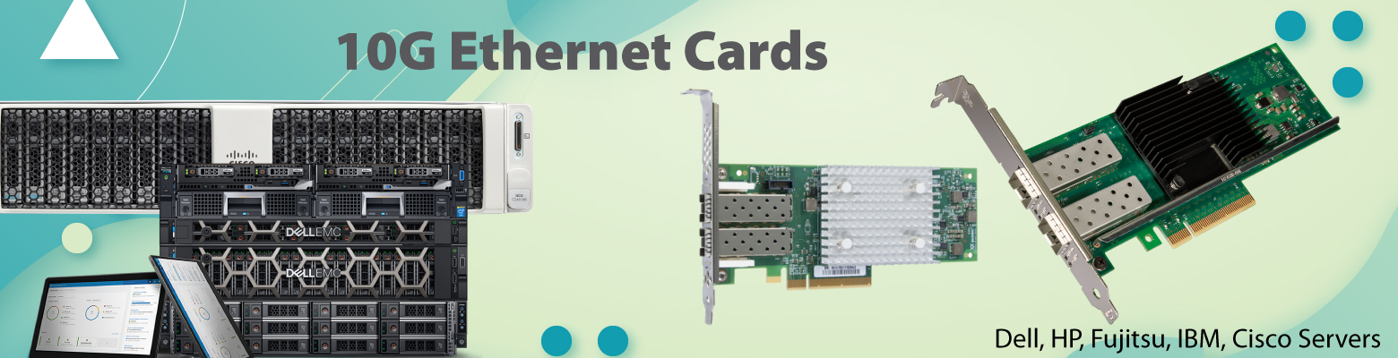 The higher bandwidth 10GB Ethernet adapter beneficial for science simulations, virtualization software.