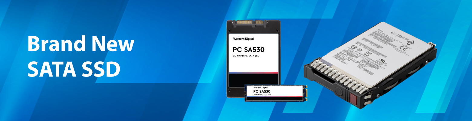 Brand New SATA SSDs for Dell and HP Servers