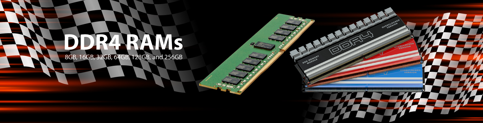 Speed Up your Server Memory with High Speed DDR4 RAMs