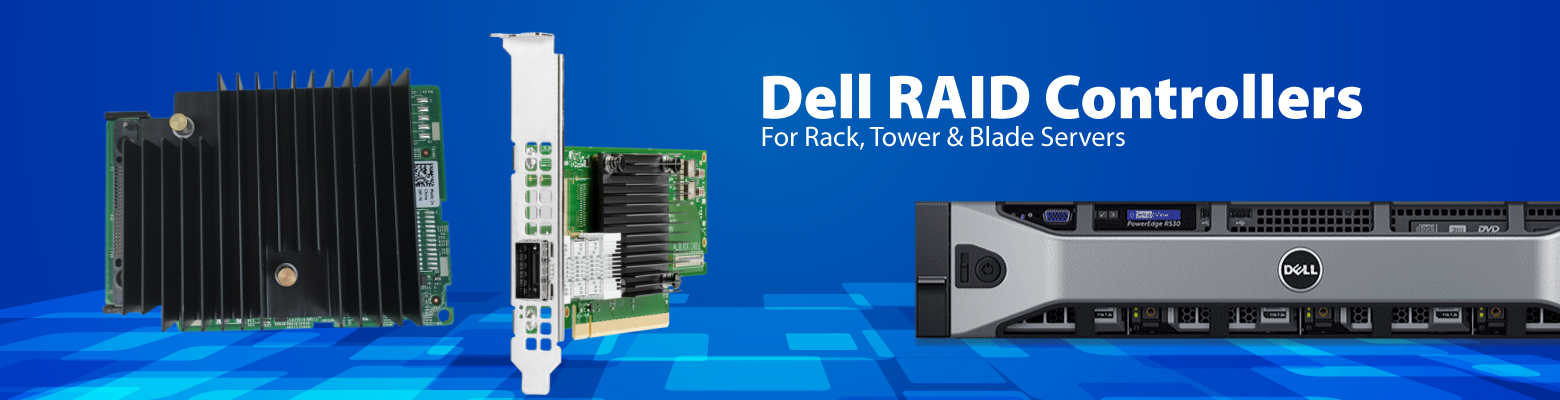 Dell PERC Enterprise-class RAID controllers is designed for enhanced performance, increased reliability