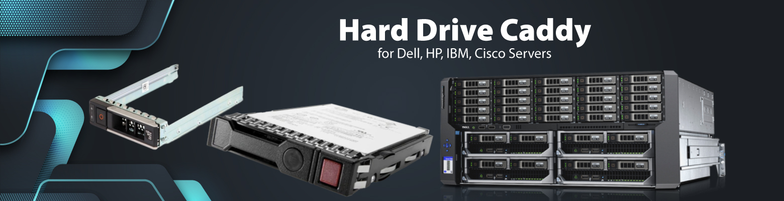 Hard Drive Caddies to protect HDD's from Wear and Tear