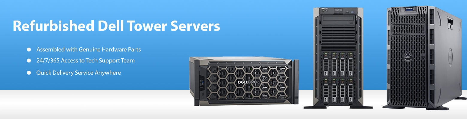Get Certified Dell Tower Servers for Mail & Messaging in UAE at Low Cost