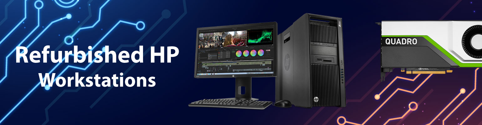 Refurb HP Workstations built with high-end graphics cards