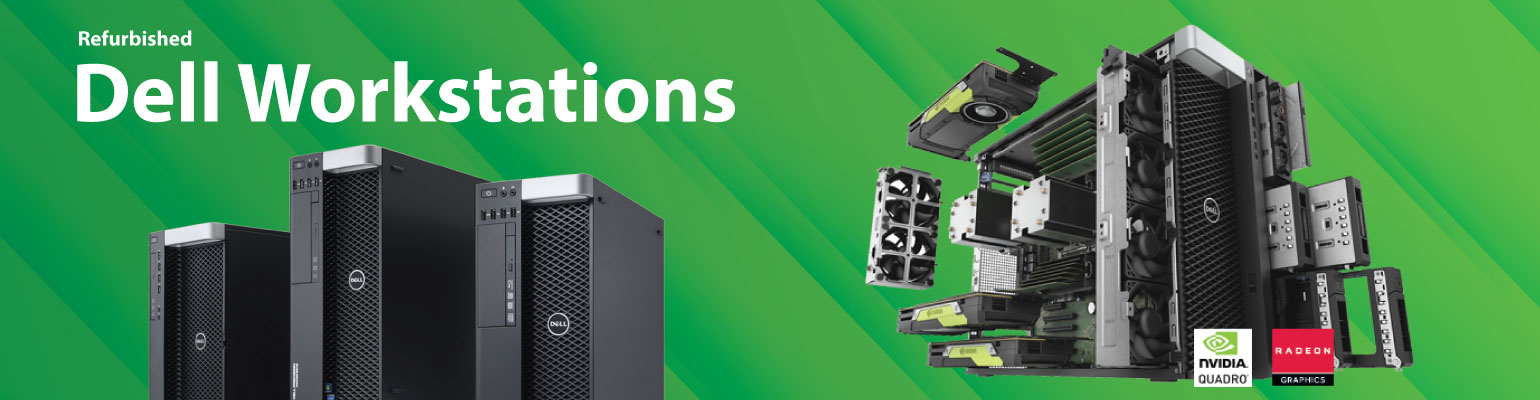 Get Refurbished Dell Workstations Suitable for Engineers, Designers, Analyst and Data Scientists