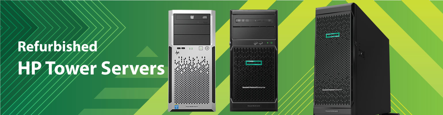 Refurbished HP tower Servers for Small Businesses