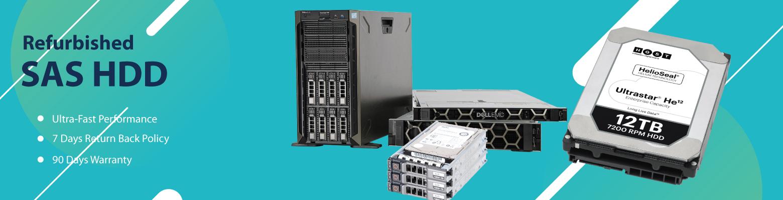 Refurb SAS drives for Enterprise Computing