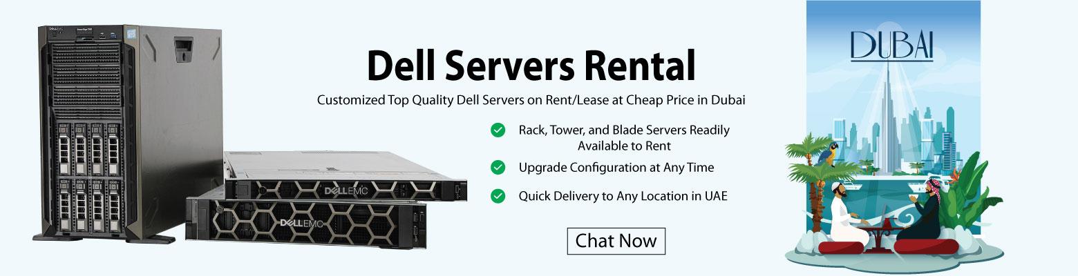 Dell Servers for Rent in Dubai - Server Basket
