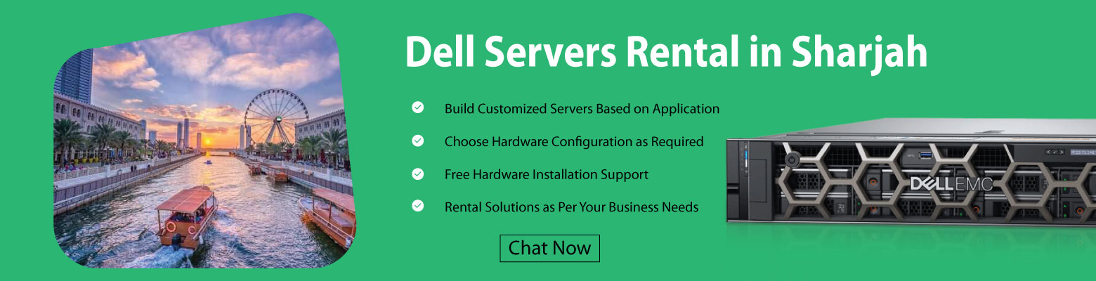 Dell Servers for Rent/Lease in Sharjah