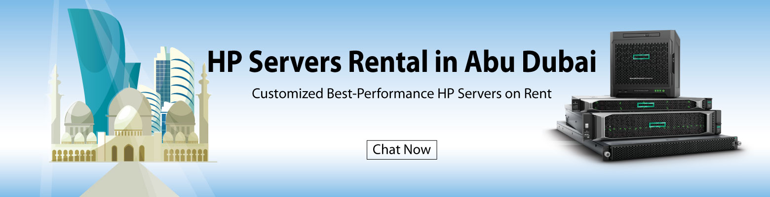 Get HP Servers for Rent in Abu Dhabi from Server Basket