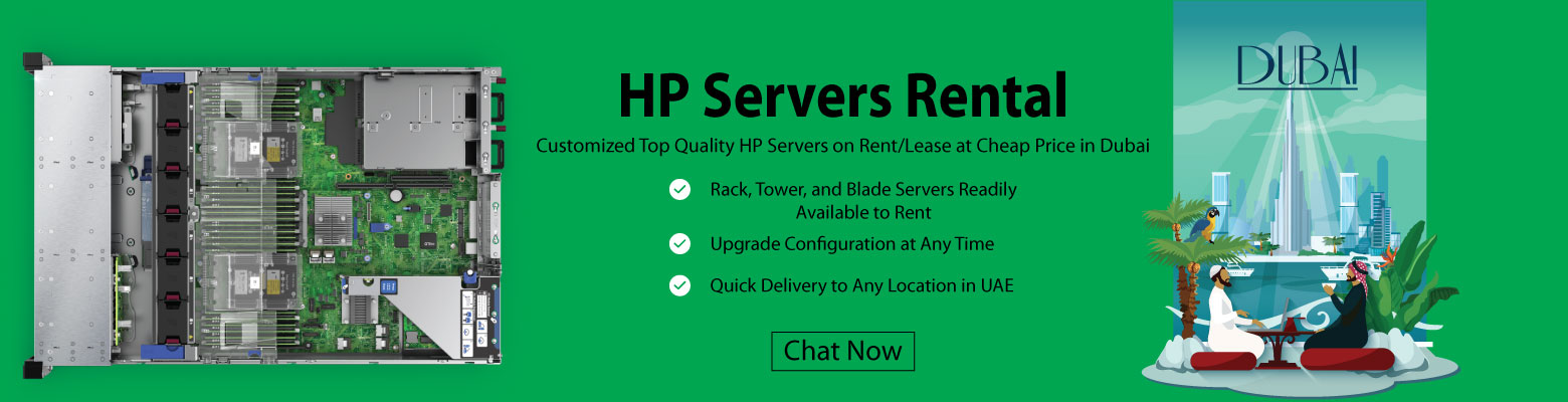 High Quality HP Servers Rental for Virtualization