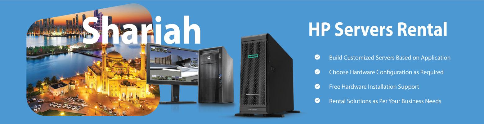 Affordable HP Server Rentals in Sharjah