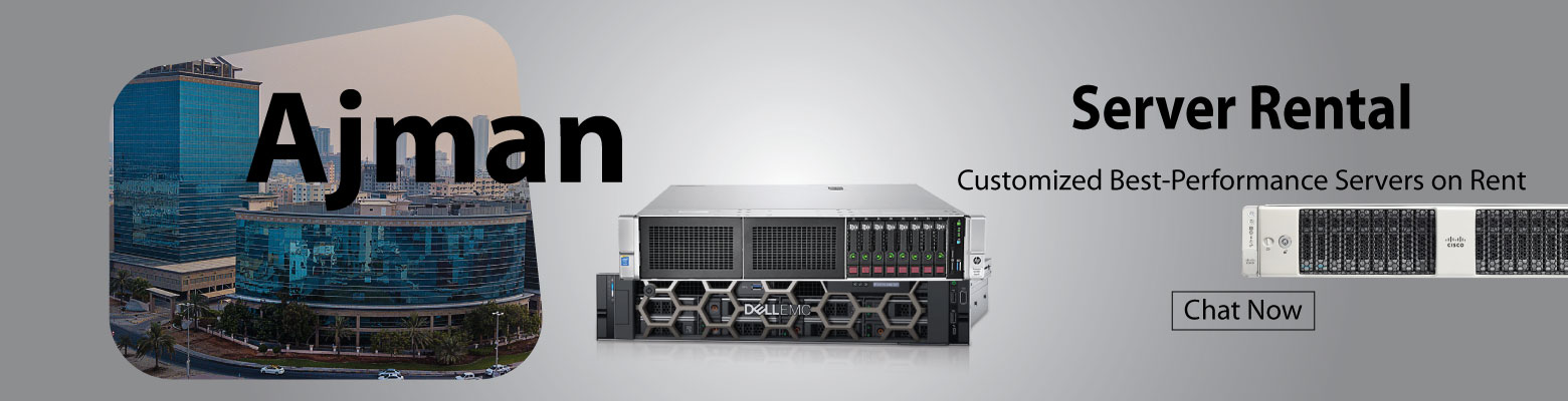 Dell, HP, and Cisco Servers for Rent in UAE